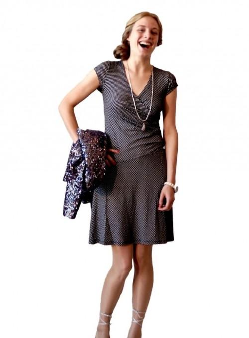 Dot & Doodle's klänning Lotta Minidot