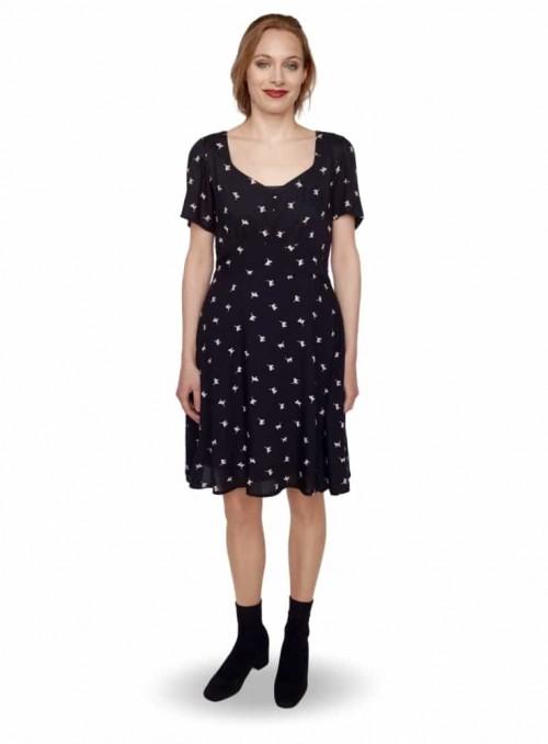 Dot & Doodle's klänning Lilly Cat