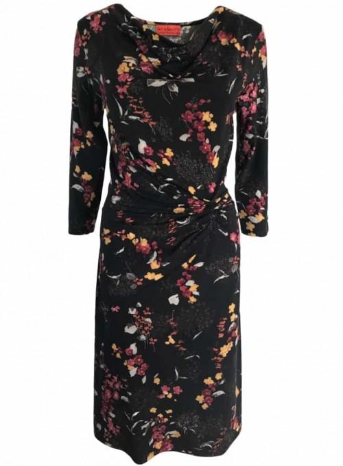 Dot & Doodle's klänning Lady Cherry Black