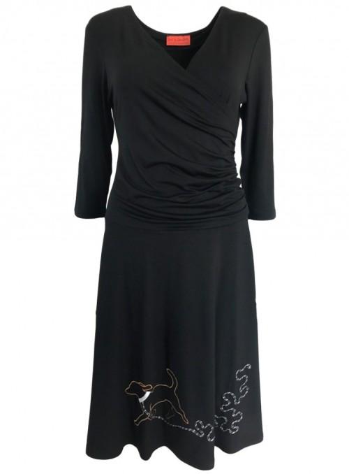 Klänning Isabella Dogella Black