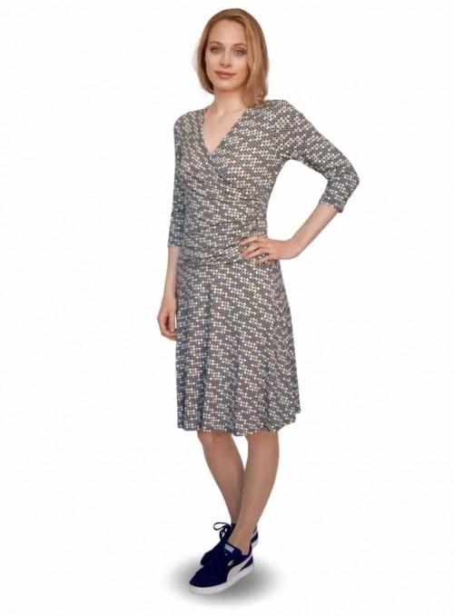 Dot & Doodle's klänning Isabella Ball Green