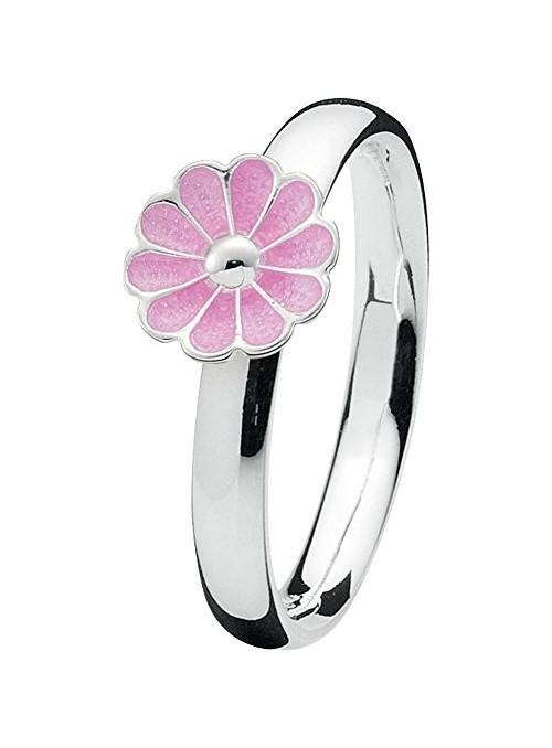 Spinning ring Blossom Silver
