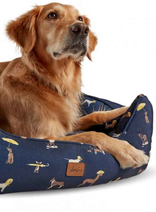 Hundkorg med tryck Box Bed från Joules