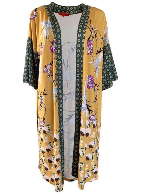 Kimono klänning Mitzi Hibiscus