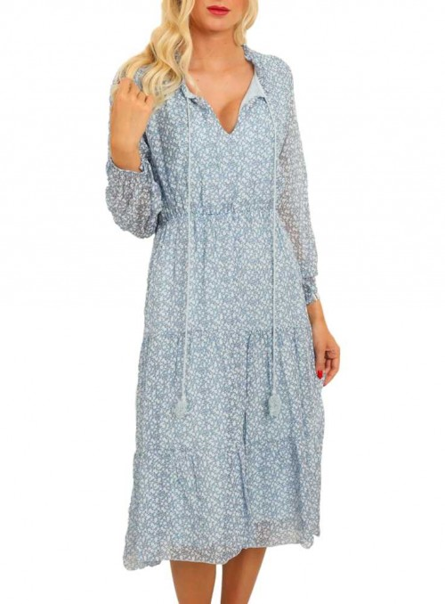 Silkesklänning från Copenhagen Luxe