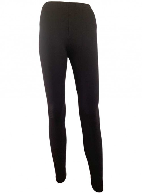 Leggings av bambu, svart