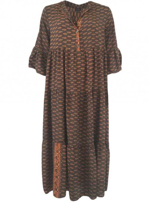 Klänning av sari-tyg från Black Colour